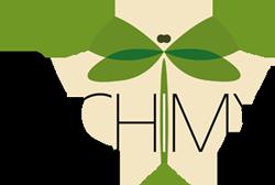 Logo Alchimy - dessin de libellule